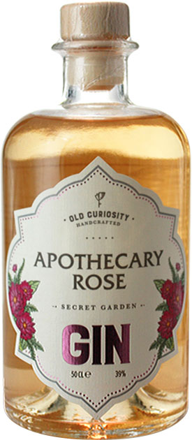 Old Curiosity - Apothecary Rose Gin 50cl Bottle