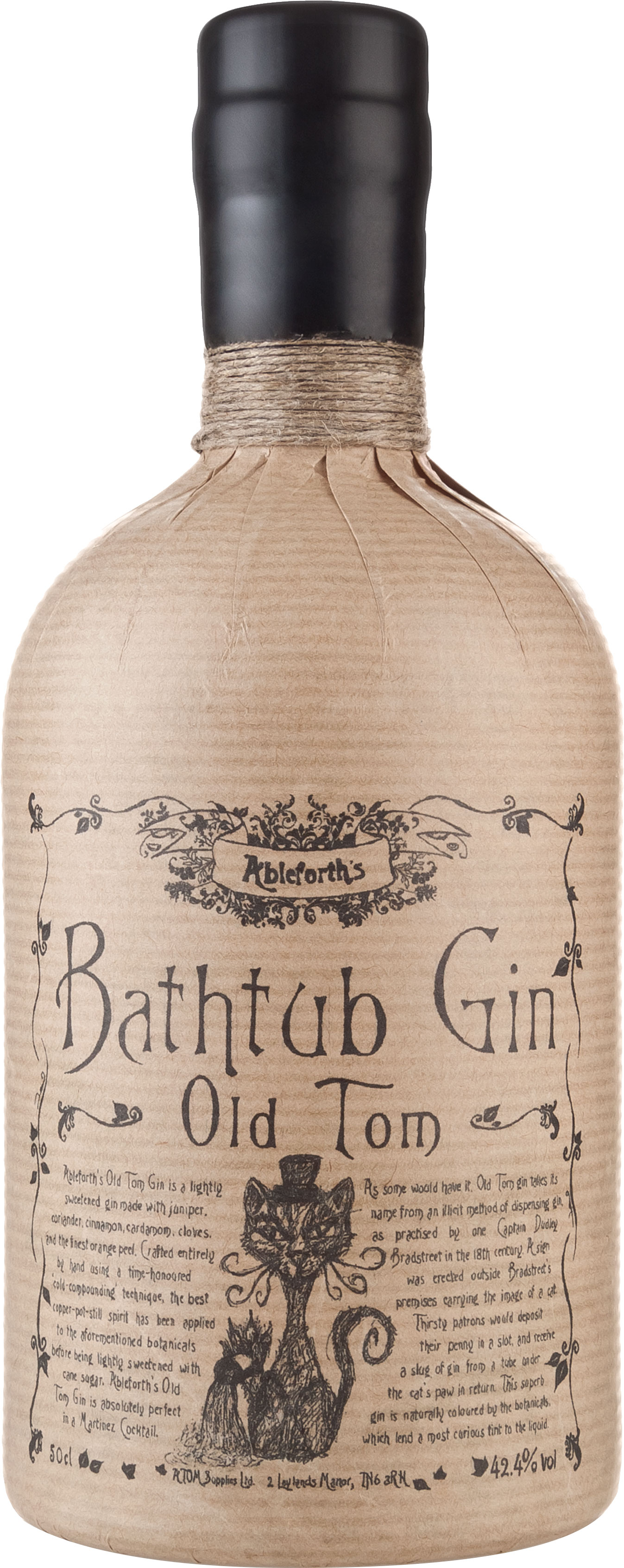 Bathtub - Old Tom Gin 50cl Bottle