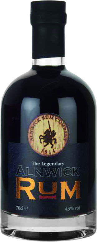Alnwick Rum Company - The Legendary Dark 70cl Bottle
