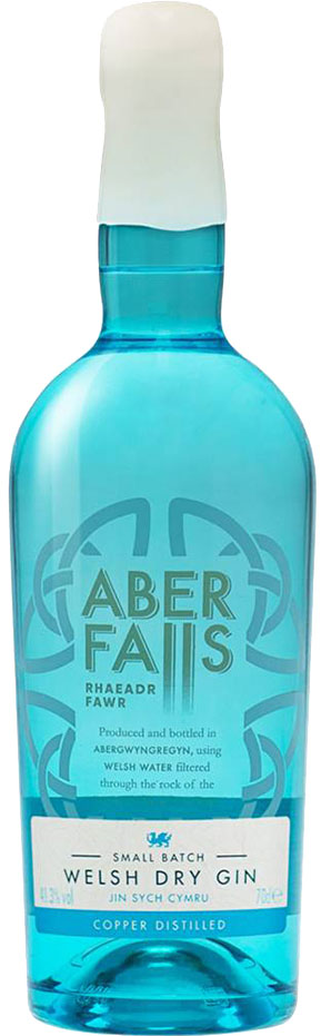 Aber Falls - Welsh Dry Gin 70cl Bottle