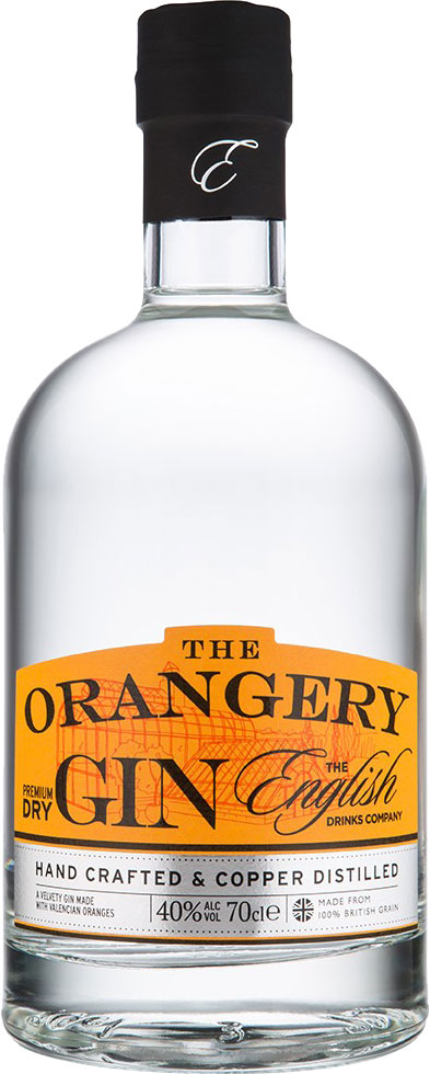 The English Drinks Company - The Orangery Gin 70cl Bottle