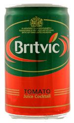 Britvic - Tomato Juice (Mini Cans) 24x 150ml Cans at The Drink Shop