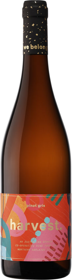 Harvest - Pinot Gris 2017 12x 75cl Bottles