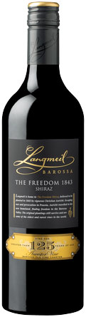 Langmeil - The Freedom 1843 Shiraz 2012 6x 75cl Bottles