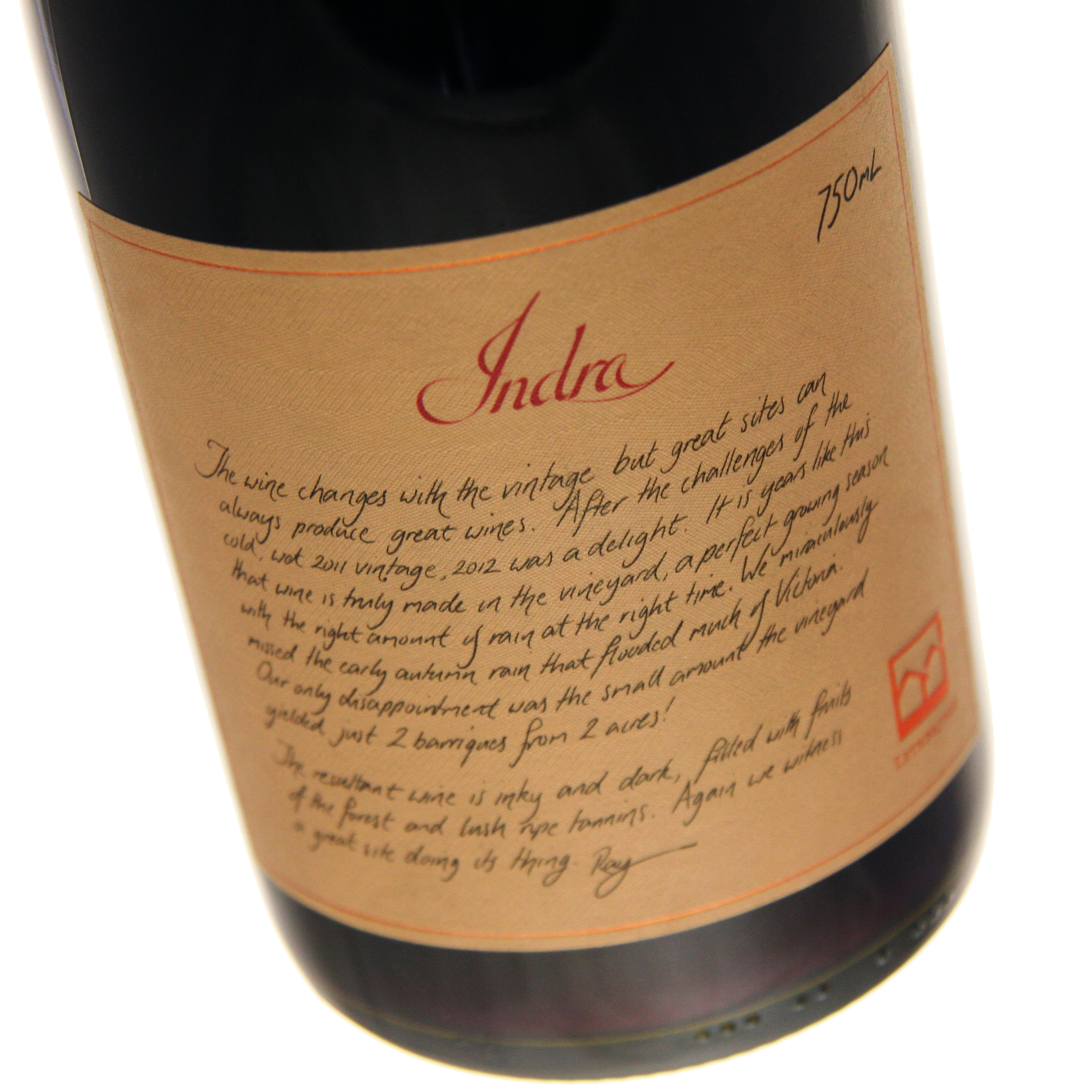 Lethbridge - Indra Shiraz 2013 12x 75cl Bottles