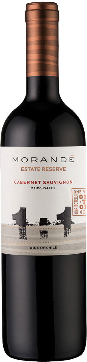 Morande - One To One Cabernet Sauvignon Estate Reserve 2017 12x 75cl Bottles