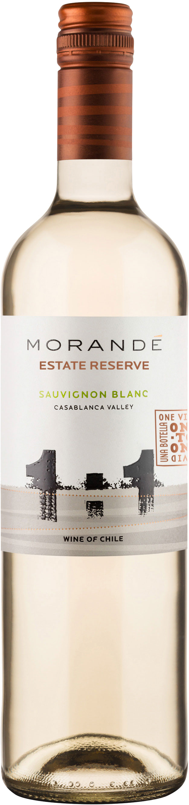 Morande - One To One Sauvignon Blanc Estate Reserve 2019 12x 75cl Bottles