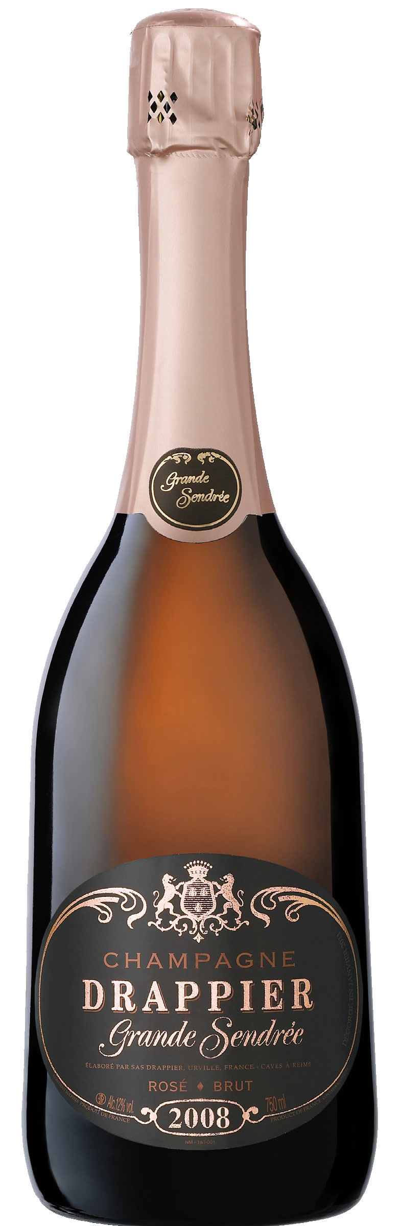 Champagne Drappier - Grande Sendree Rose 2010 6x 75cl Bottles