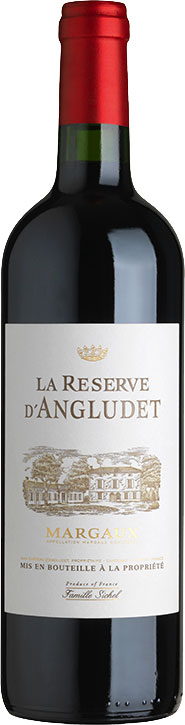Chateau Angludet - Reserve d'Angludet, Margaux 2015 6x 75cl Bottles