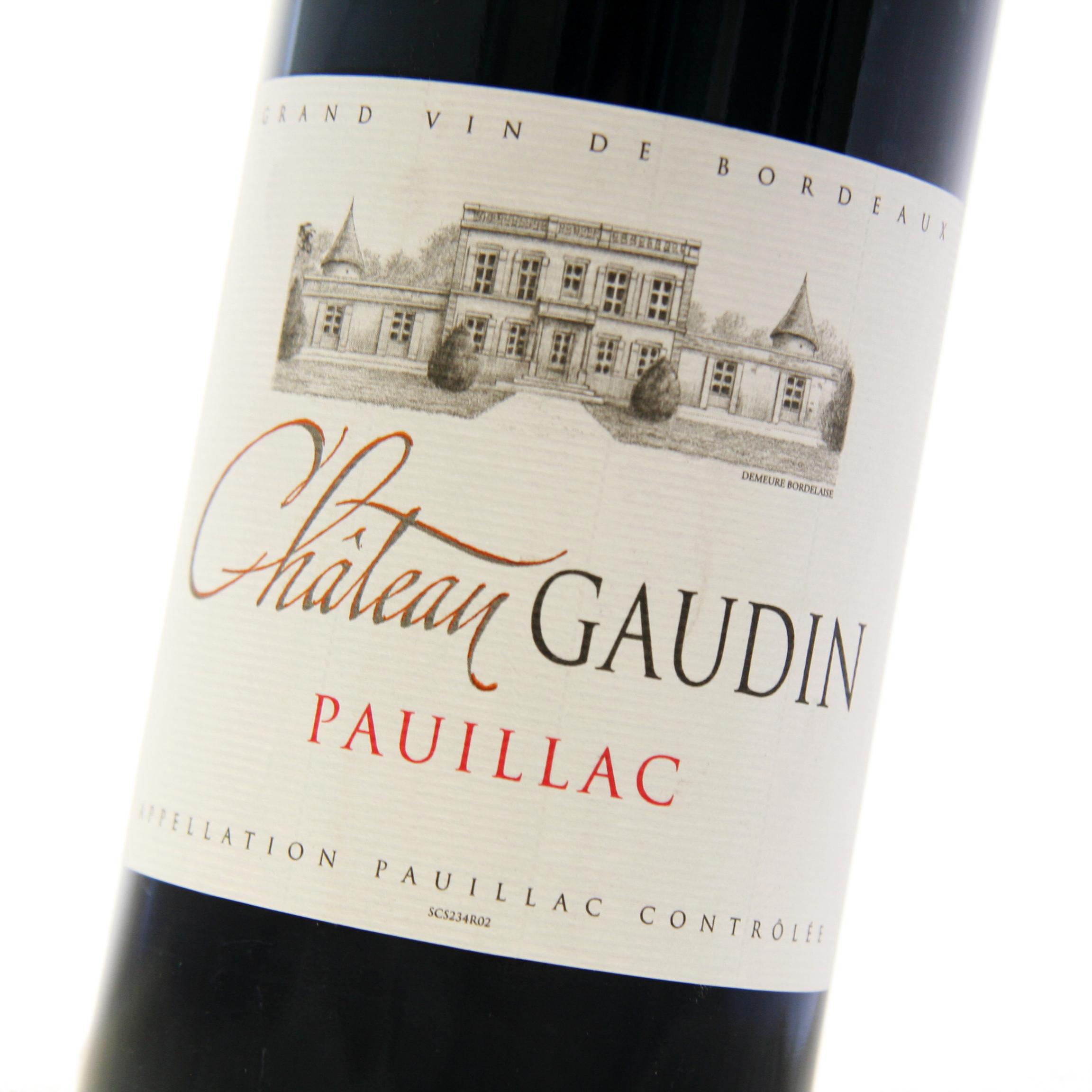 Chateau Gaudin - Pauillac 2015 6x 75cl Bottles