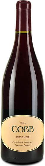 Cobb - Coastlands Pinot Noir 2013 12x 75cl Bottles