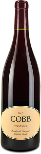 Cobb - Coastlands Pinot Noir 2010 12x 75cl Bottles