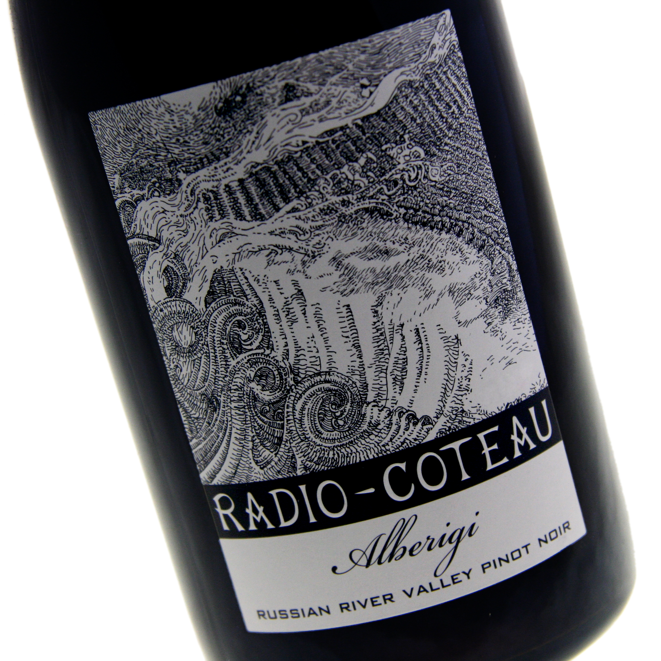 Radio-Coteau - Alberigi Vineyard Pinot Noir, Russian River Valley 2013 12x 75cl Bottles