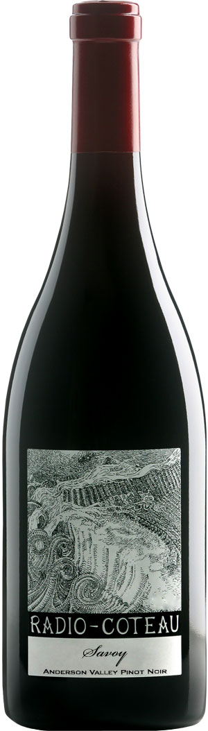Radio-Coteau - Savoy Vineyard Pinot Noir, Anderson Valley 2014 12x 75cl Bottles
