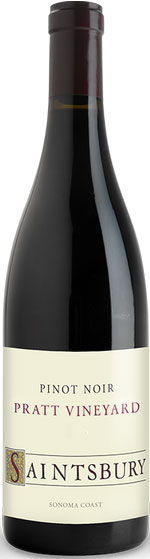 Saintsbury - Pratt Vineyard Pinot Noir, Sonoma Coast 2013 6x 75cl Bottles