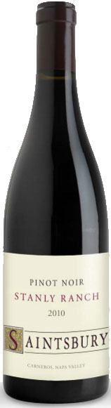 Saintsbury - Stanly Ranch Pinot Noir Carneros 2010 6x 75cl Bottles