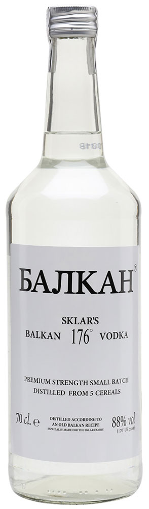 Balkan - (Bajika) Vodka 176 70cl Bottle