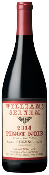 Williams Selyem - Eastside Road Neighbors Pinot Noir Russian River Valley 2014 12x 75cl Bottles