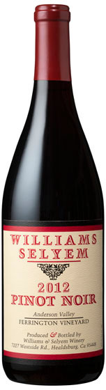 Williams Selyem - Ferrington Pinot Noir Anderson Valley 2017 12x 75cl Bottles