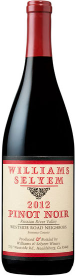 Williams Selyem - Westside Road Neighbors Pinot Noir Russian River Valley 2012 12x 75cl Bottles