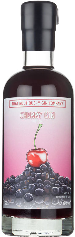 Boutiquey - Cherry Gin 50cl Bottle