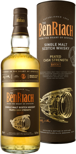 Benriach - Peated Cask Strength Batch 1 70cl Bottle
