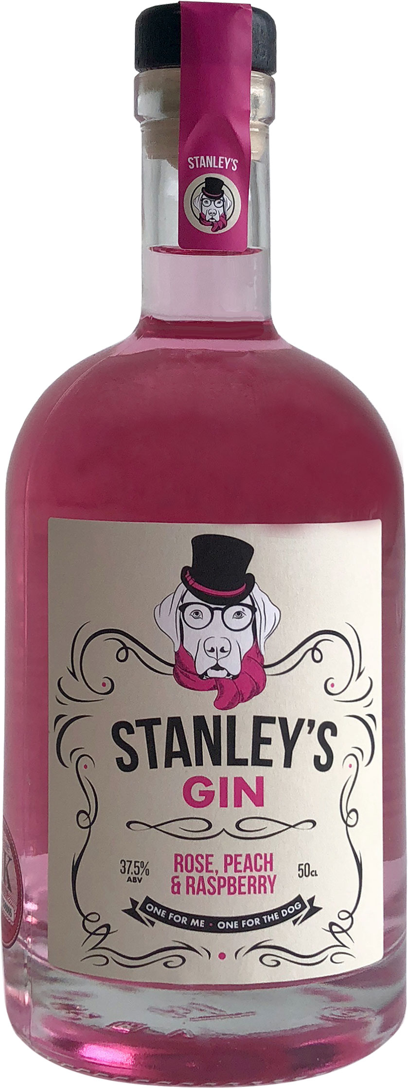 Stanleys Gin - Rose, Peach & Raspberry 50cl Bottle