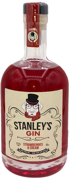 Stanleys Gin - Strawberry & Cream 50cl Bottle