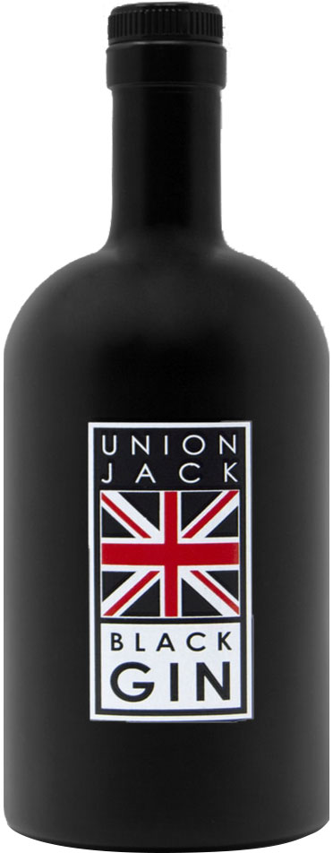 Wirral Distillery - Union Jack Black Gin 50cl Bottle
