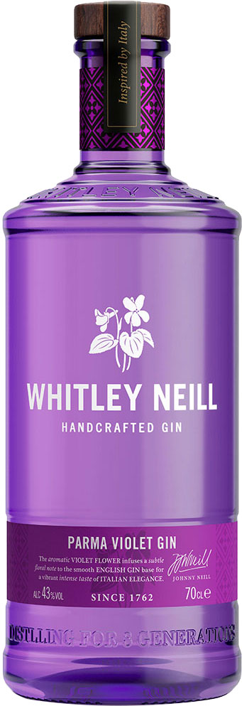 Whitley Neill - Parma Violet Gin 70cl Bottle