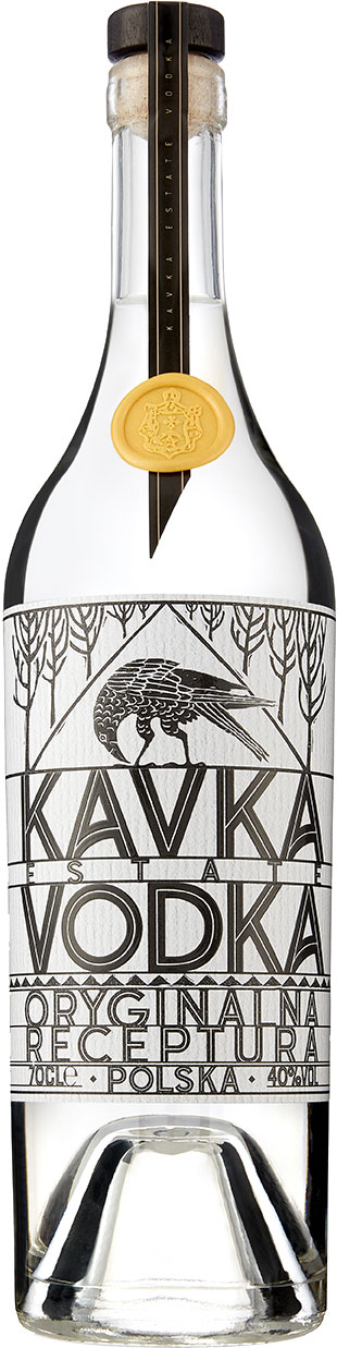 Kavka Vodka 70cl Bottle