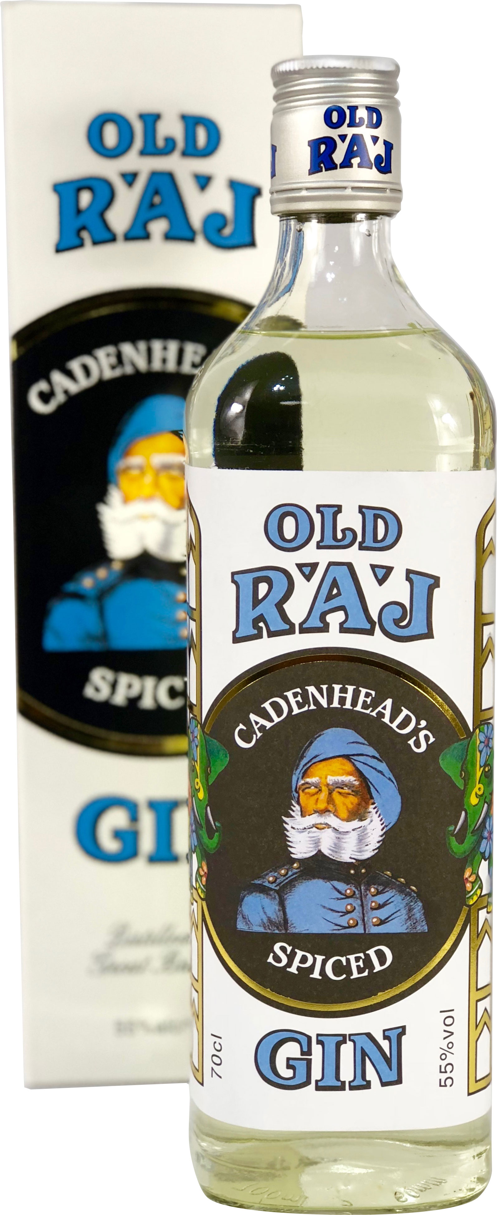 Cadenheads - Old Raj Spiced Gin (Blue Label) 70cl Bottle