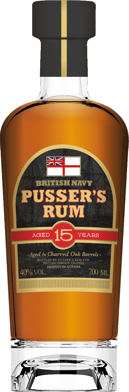Pussers - 15 Year Old 70cl Bottle
