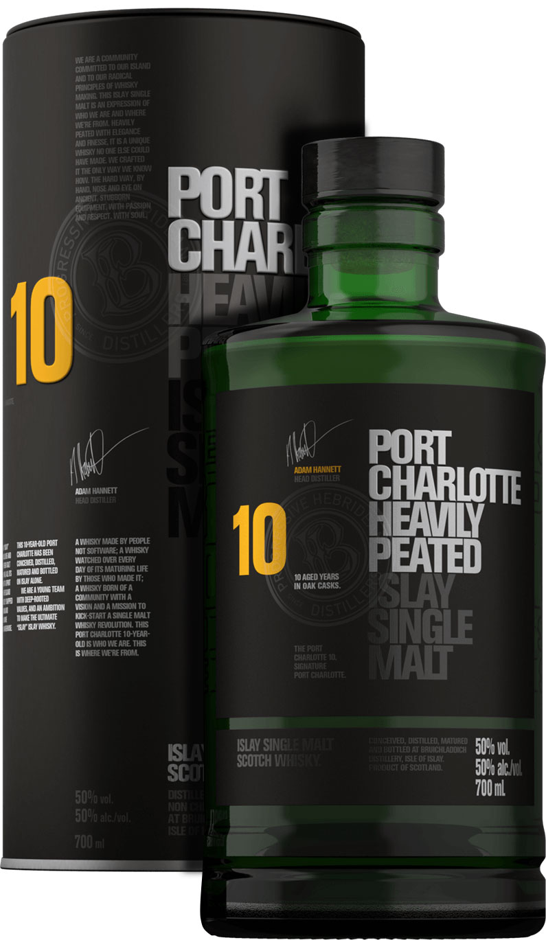 Bruichladdich - Port Charlotte 10 Year Old 70cl Bottle