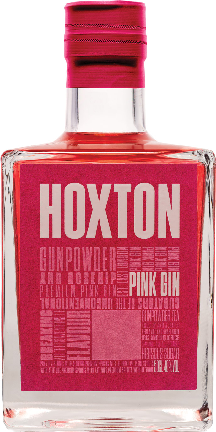 Hoxton - Pink Gin 50cl Bottle