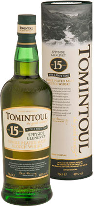 Tomintoul - 15 Year Old With A Peaty Tang 70cl Bottle