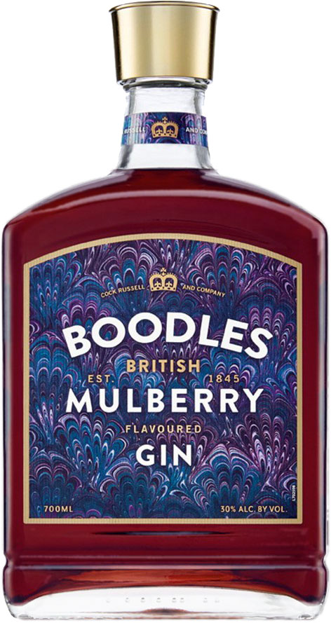 Boodles - Mulberry Gin 70cl Bottle