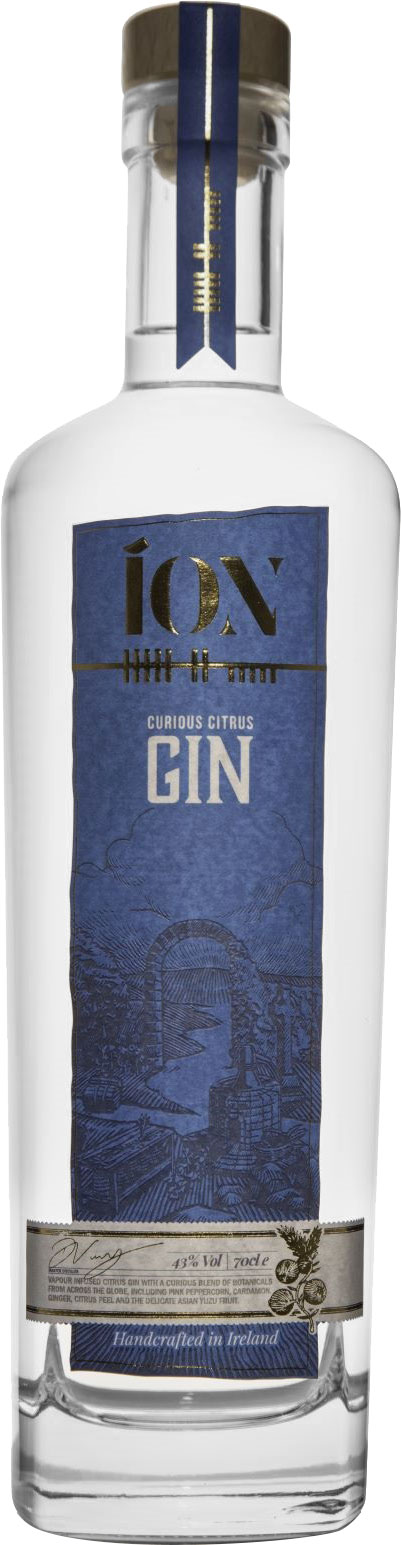 Ion - Curious Citrus Gin 70cl Bottle