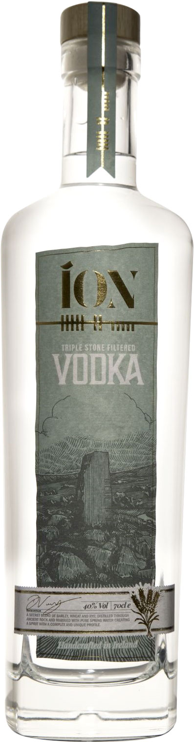 Ion - Stone Filtered Vodka 70cl Bottle