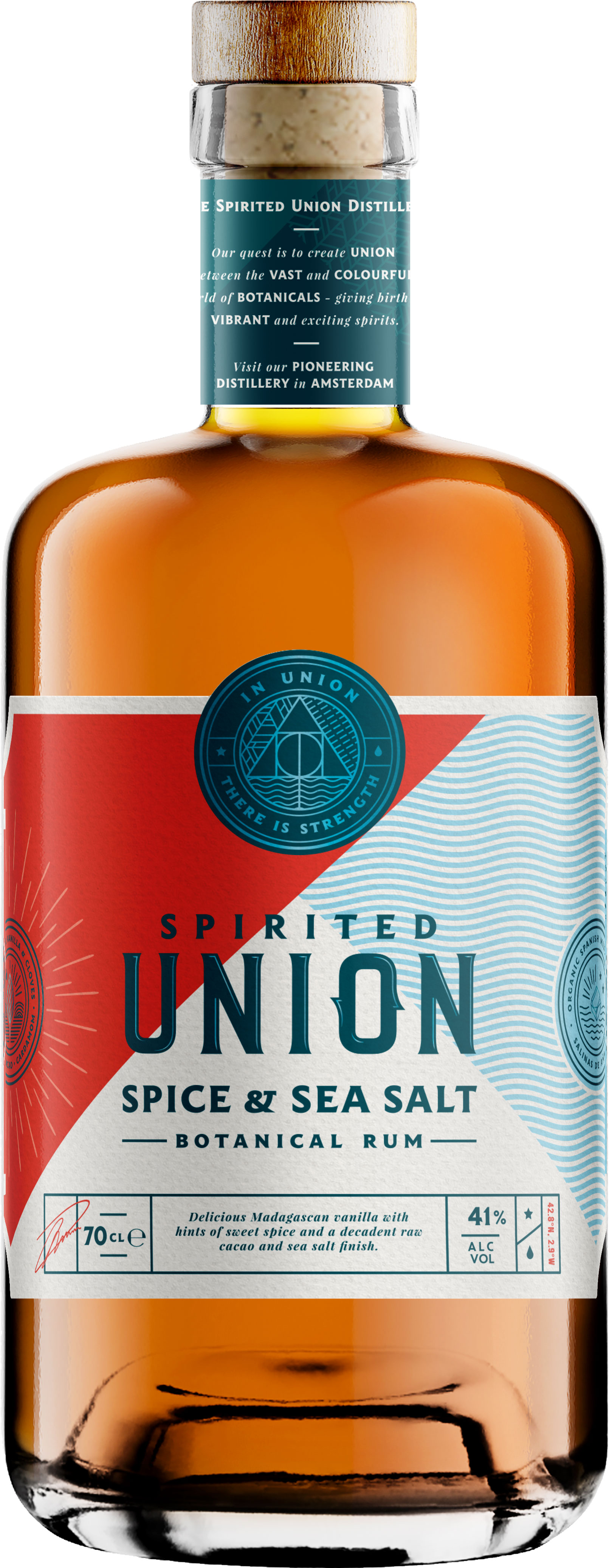 Union 55 - Salted & Spiced Rum 70cl Bottle