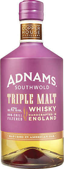 Adnams - Triple Malt Whisky 70cl Bottle