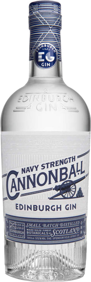 Edinburgh Gin - Cannonball 70cl Bottle