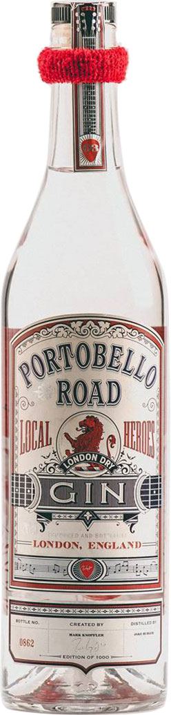 Portobello Road Gin - Local Heroes #3 - Mark Knopfler 70cl Bottle