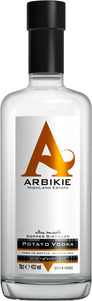 Arbikie - Tattie Bogle Potato Vodka 70cl Bottle