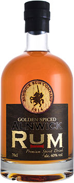 Alnwick Rum Company - Golden Spiced 70cl Bottle