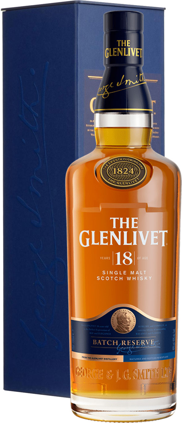 Glenlivet - 18 Year Old 70cl Bottle