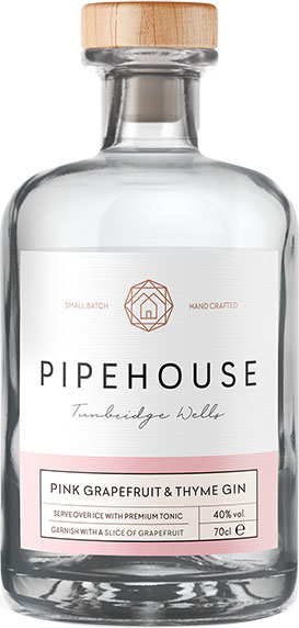 Pipehouse - Pink Grapefruit & Thyme Gin 70cl Bottle