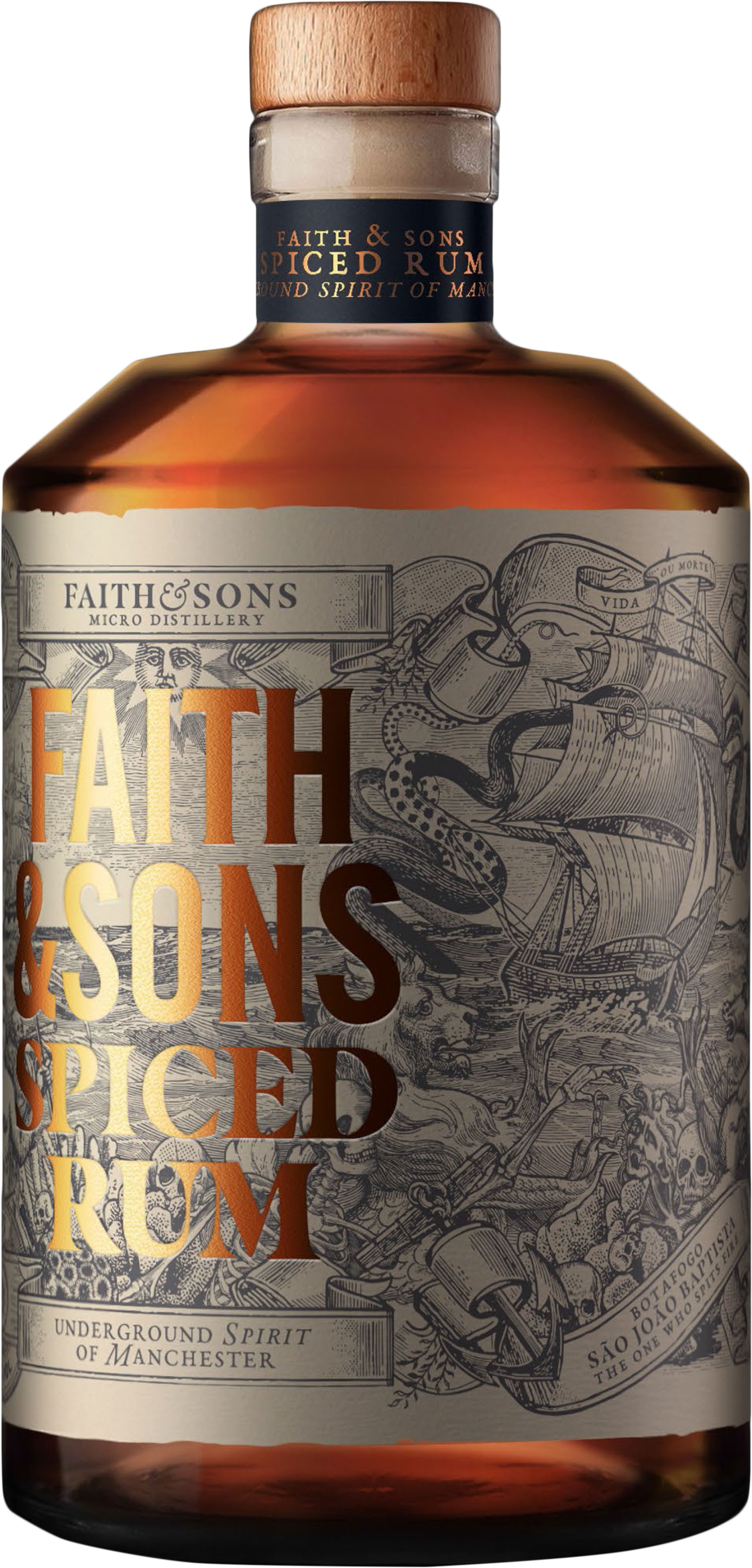 Faith & Sons - Spiced Rum 50cl Bottle