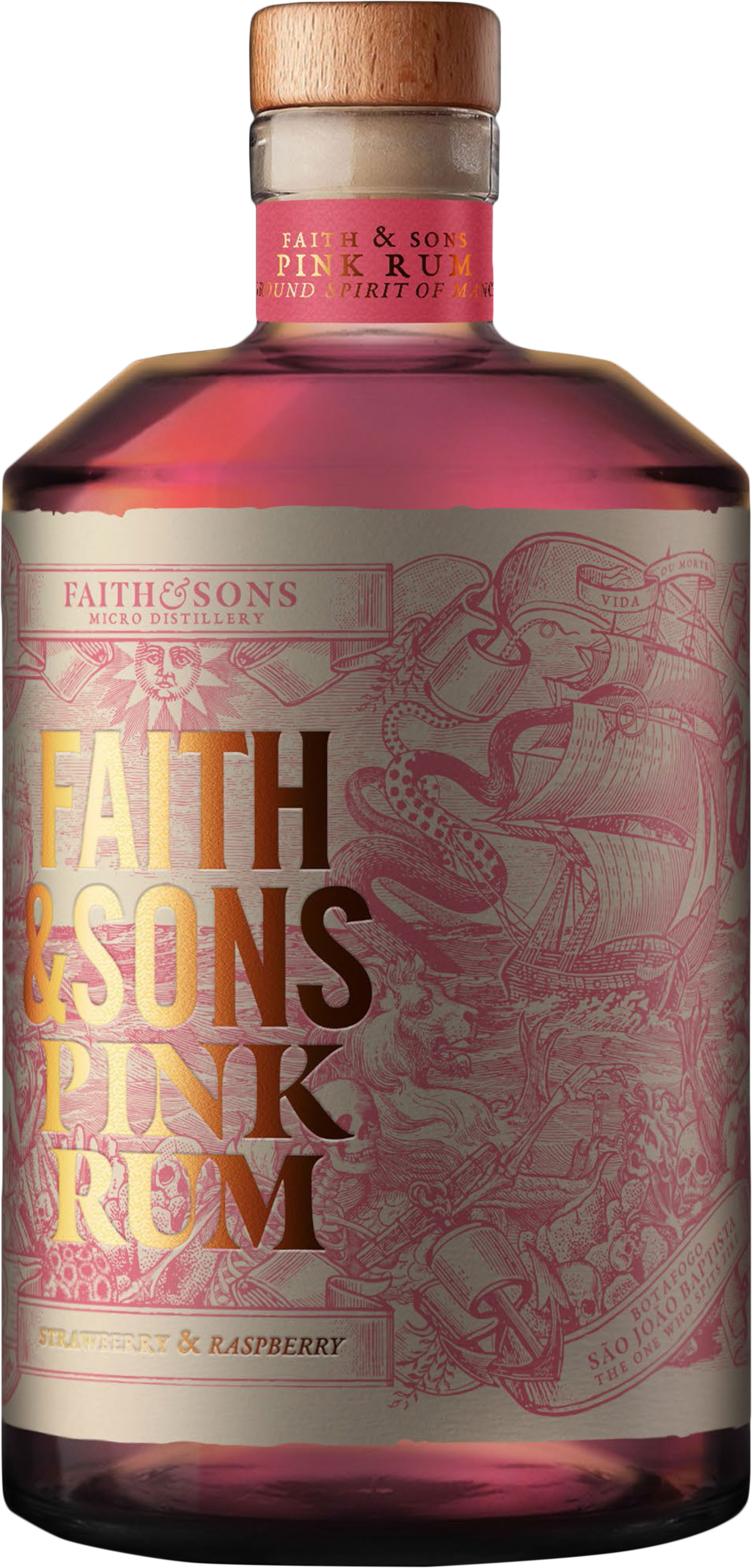 Faith & Sons - Pink Rum 50cl Bottle