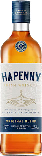 Ha'Penny - Blended Irish Whiskey 70cl Bottle